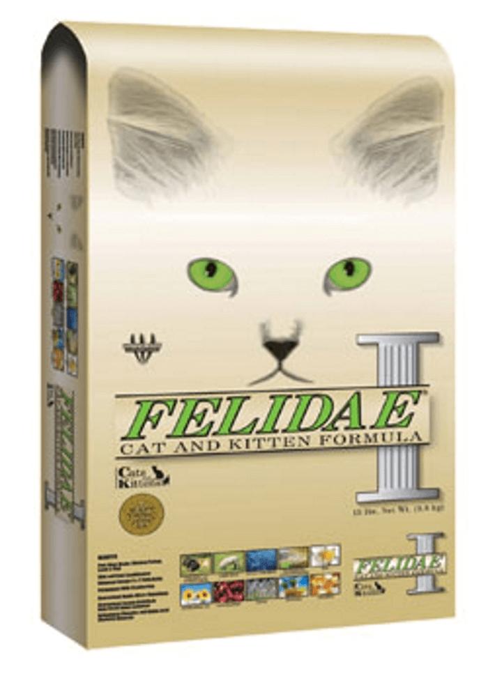 сухой корм felidae