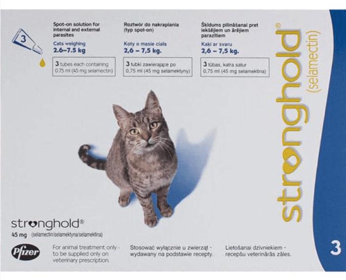 стронхолд для кошек